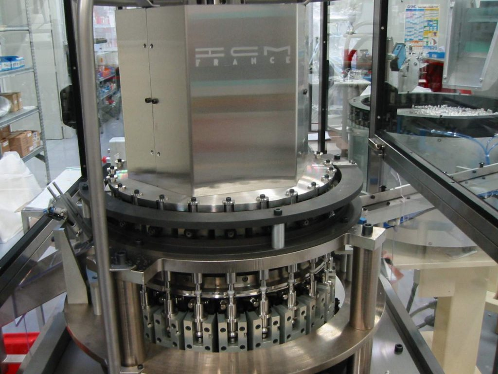 continuous motion assembly machine